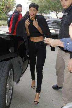 Inspírate en el nuevo look de las celebrities: Rihanna