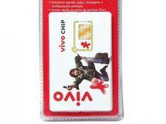 Chip VIVO Pré SC - Tecnologia GSM com as melhores condições você encontra no Magazine Raimundogarcia. Confira!