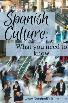 Your basic need-to-knows; Spanish culture 101. Your path to understanding the Spanish culture begins here, and continues throughout Crashed Culture. via /crashedculture/