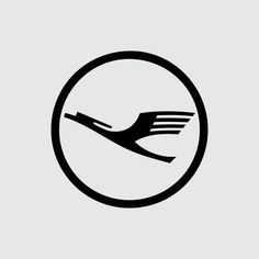 """Lufthansa by Otl Aicher | 1962  #logotheke #logo #logomark #logodesigner #logoinspirations #logoinspiration #logolove #logobrand #brand #branding…"""