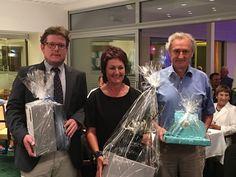Das war das Turnier der Präsidentin 2016 Die Gewinner durften sich über wunderschöne Vasen und edle Kaffemaschinen vom Porzellanhaus Sakotnik in Klagenfurt, freuen
