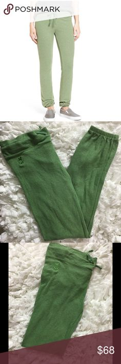 Wildfox Sweatpants Wildfox green sweatpants or joggers.  NWT.  Super soft and comfortable. Wildfox Pants Track Pants & Joggers