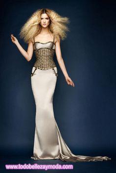 Versace: Vestidos de Noche Colección Atelier Primavera-Verano (2010)