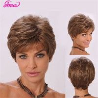 Model :0440  Description 100% good quality and new brand heat resisitant fiber made fiber wig. with