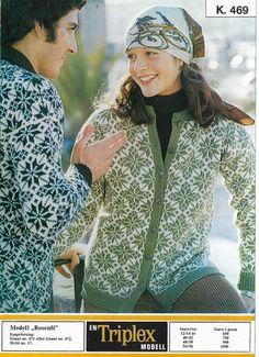 Vintage Knitting, Latex, Crocheting, Knit Crochet, Vest, Jackets, Fashion, Down Jackets, Moda