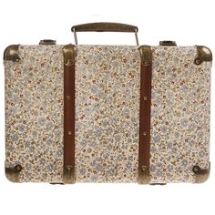 Out of stock. Daisies Vintage Floral Suitcase