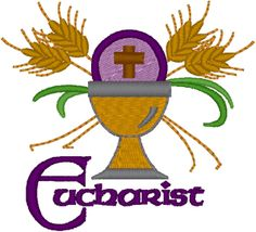 Machine Embroidery Design: Eucharist #1