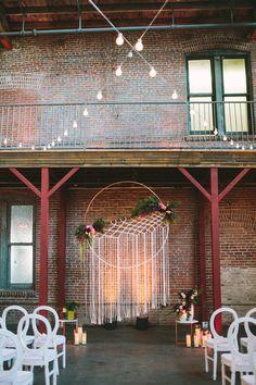 boho wedding ideas - Photo by Let's Frolic Together - http://ruffledblog.com/wanderlust-inspired-wedding-in-los-angeles