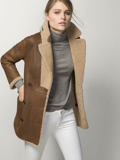DOUBLE-SIDED REVERSIBLE COAT