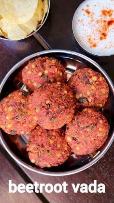 beetroot vadai recipe, beetroot masala vada, chettinad beetroot lentil fritters with step by step photo/video. deep fried snack from popular tamil cuisine. Easy Indian Dessert Recipes, Indian Snacks, Indian Food Recipes, Veg Recipes, Spicy Recipes, Vegetarian Recipes, Cooking Recipes, Beetroot Recipes, Bread Recipes