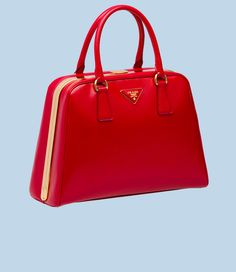 Prada saffiano patent leather bag