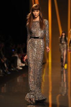 Karlie Kloss Photo - Elie Saab: Runway - Paris Fashion Week Womenswear Fall/Winter 2012