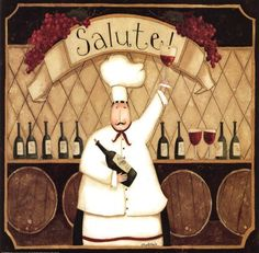 Salute Chef by Dan Dipaolo