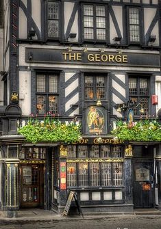 The George Pub on Strand, London, England England And Scotland, England Uk, London England, Travel England, London Pubs, Old London, The Places Youll Go, Oh The Places You'll Go, British Pub
