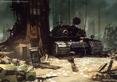IZZ-011 - Matushka, Tomasz Jedruszek on ArtStation at https://www.artstation.com/artwork/KLvax