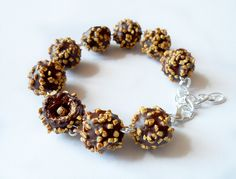 praline bracelet made from polymer clay by vivi4n