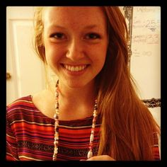 MT @shesthefirst: A sample of the bead jewelry we made with @explorerstywls! @brookesassman models!