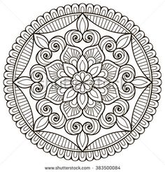 dessin mandala mandala coloriage mandala coloriage et mandala. Black Bedroom Furniture Sets. Home Design Ideas