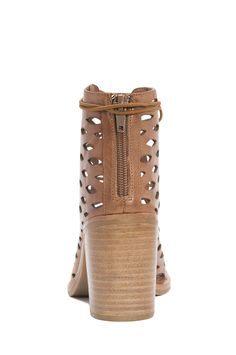 Jeffrey Campbell Shoes CORS-SLSH Booties in Tan