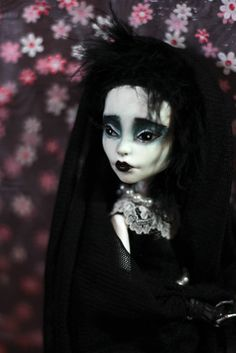 Edwina Scissorhands Monster High OOAK Repaint by Refabrications