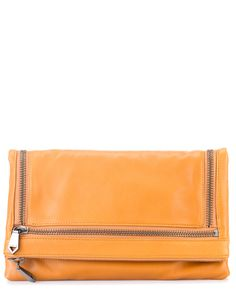 Spotted this Christopher Kon Camello Leather Foldover Zipper Clutch on Rue La La. Shop (quickly!).