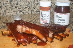 Sticky 'n Sweet BBQ Spareribs