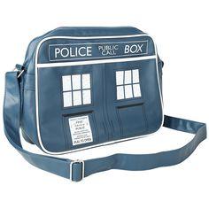 "Doctor Who Umhängetasche ""Tardis"" • EMP"