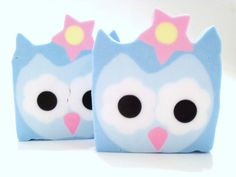 Sweet Owliva Soap  Out of the Hootie and Owlivia by pinkdottedowl, $6.75