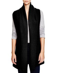 C by Bloomingdale's Shawl Collar Sweater Vest
