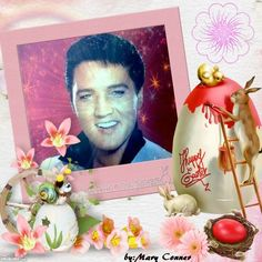 Elvis Presley Happy Easter pic