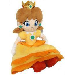 Super Mario Plush Teddy - Princess Daisy Soft Toy -Size: 7 / - New Mario Princess Daisy, Nintendo Princess, Plush Dolls, Doll Toys, Baby Toys, Kids Toys, Princesa Daisy, Mario Birthday Party, Mario Party