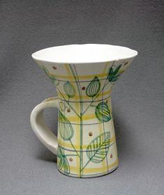 Kermit, Metallica, Finland, Savi, Ceramics, Mugs, Deco, Tableware, Vintage