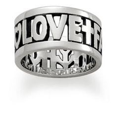 James Avery Faith Hope and Love ring James Avery Faith Hope and Love ring size 8 James Avery Jewelry Rings