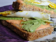 Healthy Breakfast Sandwich Sauce that beats butter and mayonnaise!