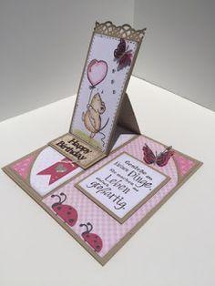 Heute bekommt ihr eine Anleitung zu der halbseitigen Easlcard , die im Stempelhaus Inspiration des Monats ist. Ihr benötigt ...