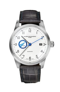 Swiss luxury watches for men handcrafted in Zurich by Maurice de Mauriac. Swiss Luxury Watches, Swiss Made Watches, Modern Watches, Luxury Watches For Men, Fine Watches, Moon Watch, Dream Watches, Automatic Watch, Jokes