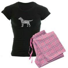 "Awesome Gift!....""Sleepy Lab"" Ladies Labrador Pajamas by Labradors.com $54.95  Labradors.com Shop"