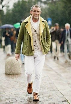 perfect casual attire: raise your happiness level AFTER age 50; here's how: http://lifequalityexaminer.com/raise-happiness-after-age-50/