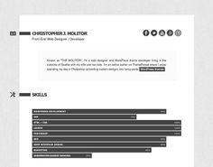 Minimalme Minimal Html Cv Resume Template Themeforest Previewer