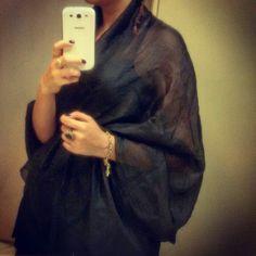Abaya must be black