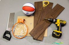 After you've completed your #mywoodwall install, don't toss the scraps...transform them! Head to our blog for a step-by-step guide on making a DIY basketball hoop.<br> Recycling and reusing materials to create something entirely new is what makes a DIY project so fulfilling! After you've put those final touches on your mywoodwall™ install, you might find that you've ended up with some excess material. For the love of basketball, don't throw them away...transform them into endless indoor… Boys Basketball Room, Indoor Basketball Hoop, Basketball Tricks, Basketball Birthday, Basketball Hoop In Bedroom, Illini Basketball, Basketball Signs, Backyard Basketball, Basketball Pictures