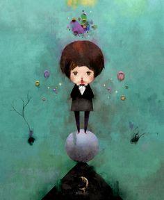 Childhood's End by Dric , via Behance