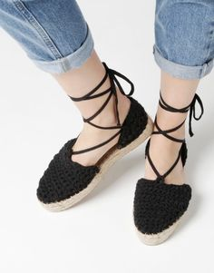 Ipanema Espadrilles | Soludos X Wool and the gang | woolandthegang.com