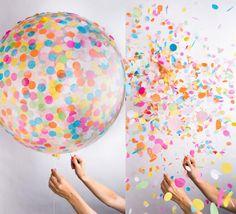 < DECOR DE CARNAVAL >  EXPLOSÃO DE CARNAVAL | durante as festas de carnaval, os bolões dão um toque especial na decoração e depois os convidados podem fazer a folia estourando cada um deles! #folia #carnaval2015 #decordecarnaval #tecnisa