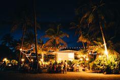 string light reception | Erika Delgado #wedding