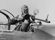 German Machine Gunner In A Military Aircraft On February 22Th 1939 News Photo   Getty Images