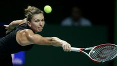 Simona halep tennis racket Silk poster 14 X 24 inch wallpaper on eBay
