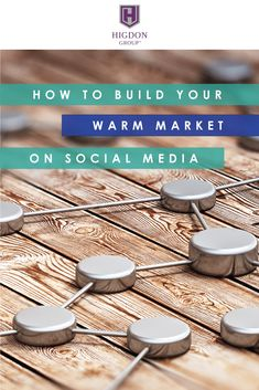 How to Build Your MLM Warm Market on Social Media. Want more people to prospect? Here my wife and social media recruiting expert, Jessica Higdon shares exactly how to build a warm market so you'll never run out of prospects. Social Media Digital Marketing, Business Marketing, Online Marketing, Social Media Marketing, Online Business, Marketing Training, Social Media Channels, Social Media Tips, Network Marketing Tips