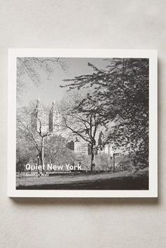 Anthropologie Quiet New York #anthroregistry
