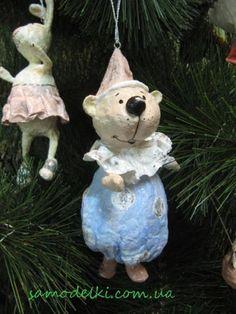 Новогодние игрушки из ваты | Самоделки